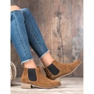 Goodin Leren Jodhpur-laarzen bruin 3
