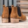 Goodin Leren Jodhpur-laarzen bruin 1