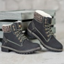 Goodin Warme Trappers grijs 3