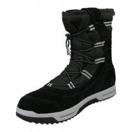 Timberland Snow Stomper Pull On Wp Jr A1UIK winterschoenen zwart 1