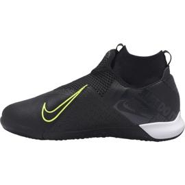 Nike Phantom Vsn Academy Df Ic Jr AO3290 007 voetbalschoenen zwart zwart 1