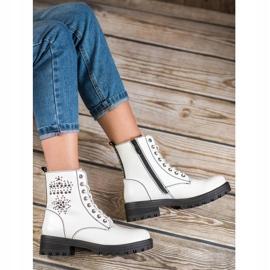 Goodin Witte laarzen 1