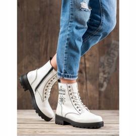 Goodin Witte laarzen 5