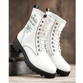 Goodin Witte laarzen 3