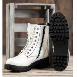 Goodin Witte laarzen 4