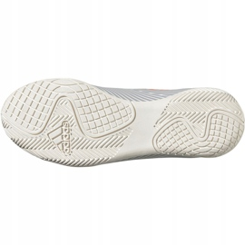 Adidas Nemeziz 19.4 In Jr EF8307 voetbalschoenen grijs oranje, grijs / zilver 6