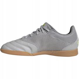 Adidas Copa 20.3 In Sala Jr EF8338 voetbalschoenen grijs grijs / zilver 2
