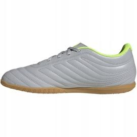 M adidas Copa 20.4 In EF8351 voetbalschoenen grijs grijs / zilver 2