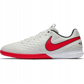 Nike Tiempo React Legend 8 Pro M Ic AT6134 061 voetbalschoenen beige beige / creme, rood 2
