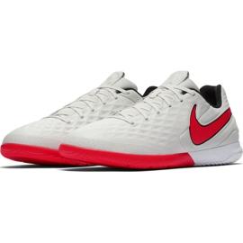 Nike Tiempo React Legend 8 Pro M Ic AT6134 061 voetbalschoenen beige beige / creme, rood 3