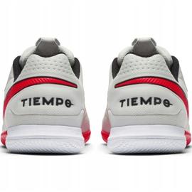 Nike Tiempo React Legend 8 Pro M Ic AT6134 061 voetbalschoenen beige beige / creme, rood 4