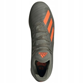 Adidas X 19.3 In M EF8367 indoorschoenen grijs grijs / zilver 1