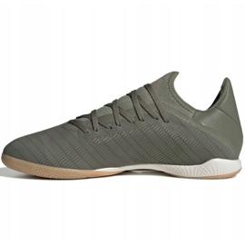 Adidas X 19.3 In M EF8367 indoorschoenen grijs grijs / zilver 2