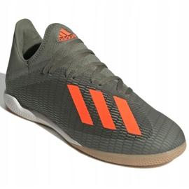 Adidas X 19.3 In M EF8367 indoorschoenen grijs grijs / zilver 3