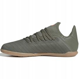 Adidas X 19.3 In Jr EF8376 indoorschoenen grijs grijs / zilver 2