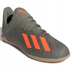 Adidas X 19.3 In Jr EF8376 indoorschoenen grijs grijs / zilver 3