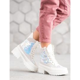 Seastar Laarzen Op Modeplatform wit 3