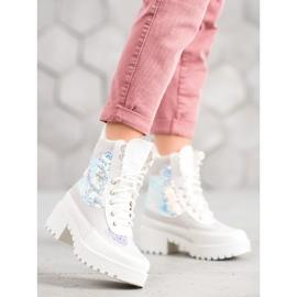 Seastar Laarzen Op Modeplatform wit 1