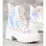 Seastar Laarzen Op Modeplatform wit 2