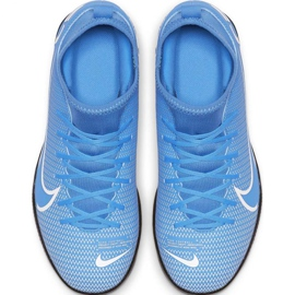 Nike Mercurial Superfly 7 Club Ic Jr AT8153 414 voetbalschoenen blauw wit, blauw 3