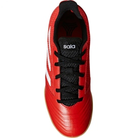 Adidas Predator Tango 18.4 Sala Jr DB2343 voetbalschoenen rood rood 2