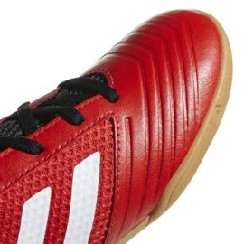 Adidas Predator Tango 18.4 Sala Jr DB2343 voetbalschoenen rood rood 3