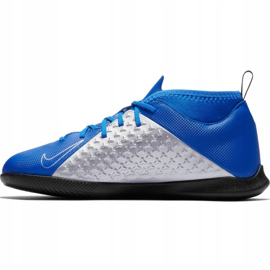 Nike Phantom Vsn Club Df Ic Jr AO3293 400 voetbalschoenen blauw blauw 1