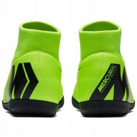 Nike Mercurial Superfly X 6 Club Ic M AH7371 701 voetbalschoenen groen zwart, groen 4