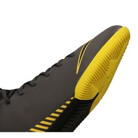 Nike Mercurial SuperflyX 6 Academy Gs Ic Jr AH7343-070 indoorschoenen grijs zwart, geel 2