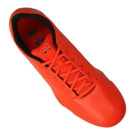 Indoorschoenen Under Armour Magnetico Select Ic M 3000 117-600 rood oranje 1