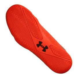 Indoorschoenen Under Armour Magnetico Select Ic M 3000 117-600 rood oranje 3