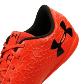 Indoorschoenen Under Armour Magnetico Select Ic M 3000 117-600 rood oranje 4