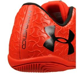 Indoorschoenen Under Armour Magnetico Select Ic M 3000 117-600 rood oranje 5