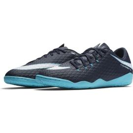 Indoorschoenen Nike HypervenomX Phelon Iii Ic marine veelkleurig 1