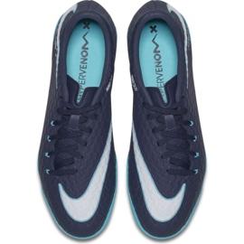Indoorschoenen Nike HypervenomX Phelon Iii Ic marine veelkleurig 3