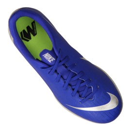 Nike VaporX 12 Academy Gs Ic Jr AJ3101-400 schoenen blauw blauw 1