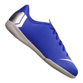 Nike VaporX 12 Academy Gs Ic Jr AJ3101-400 schoenen blauw blauw 2