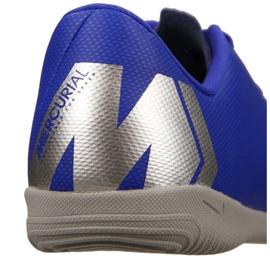 Nike VaporX 12 Academy Gs Ic Jr AJ3101-400 schoenen blauw blauw 11