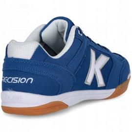 Kelme Precision Indoor 55211 0703 indoorschoenen blauw blauw 4