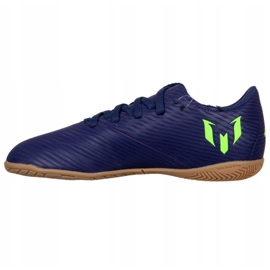 Adidas Nemeziz Messi 19.4 In Jr EF1817 voetbalschoenen marine marineblauw 1