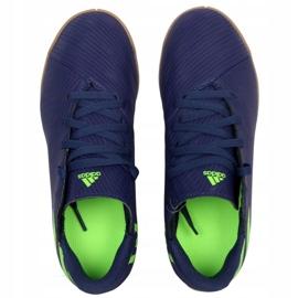 Adidas Nemeziz Messi 19.4 In Jr EF1817 voetbalschoenen marine marineblauw 2