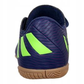 Adidas Nemeziz Messi 19.4 In Jr EF1817 voetbalschoenen marine marineblauw 3