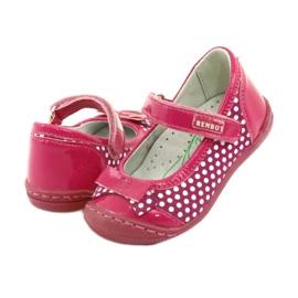 Ballerina's meisjes Ren But 1405 roze wit 4