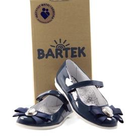 Ballerina's kinderschoenen Bartek 45418 marine blauw wit veelkleurig 4