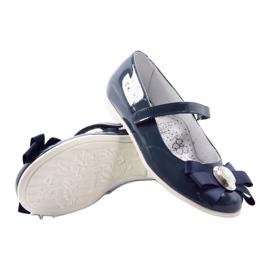 Ballerina's kinderschoenen Bartek 45418 marine blauw wit veelkleurig 3