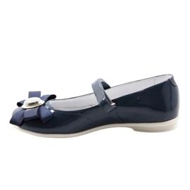 Ballerina's kinderschoenen Bartek 45418 marine blauw wit veelkleurig 2