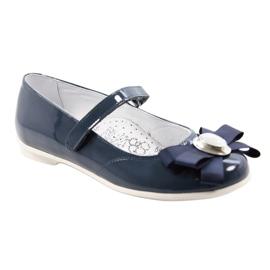 Ballerina's kinderschoenen Bartek 45418 marine blauw wit veelkleurig 1