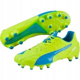 Puma Evo Speed 1.4 Lth Fg M 103615 03 voetbalschoenen geel geel 1