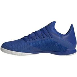 Adidas X 19.3 In M EG7154 voetbalschoenen blauw blauw 2