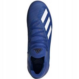 Adidas X 19.3 In M EG7154 voetbalschoenen blauw blauw 3